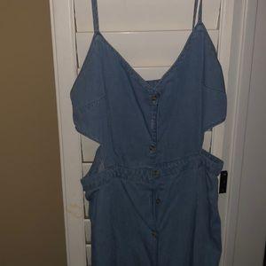 Jean summer dress!